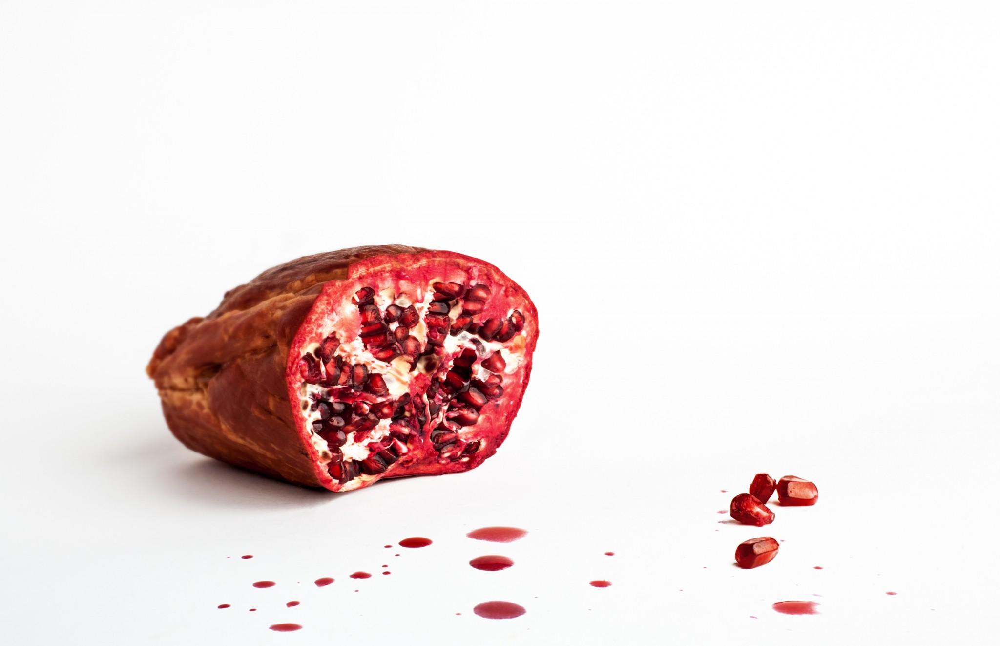 Pulp - kassler and pomegranate